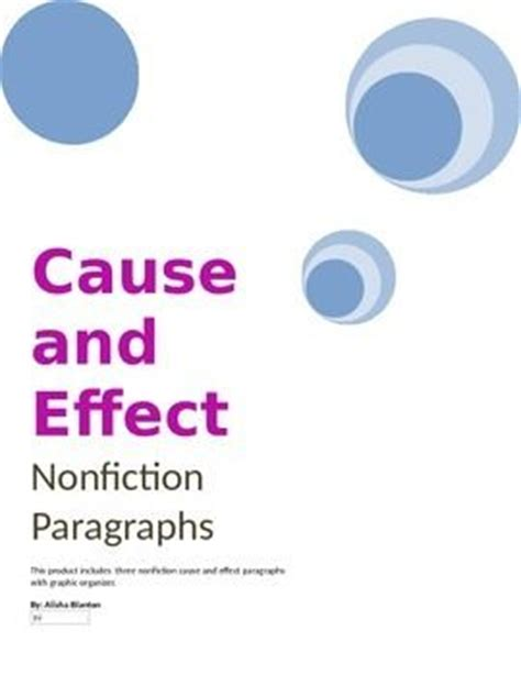 Cause and effect essay about media